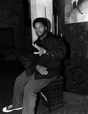 Photograph - Ice Cube In Chicago by Raymond Boyd