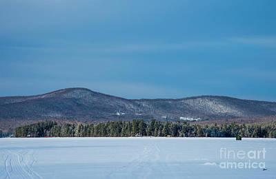 Photograph - Ice Fishing by Alana Ranney