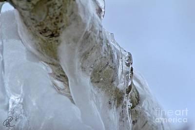 Photograph - Ice Flow by Ann E Robson