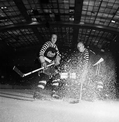 Photograph - Ice Hockey by Maurice Ambler