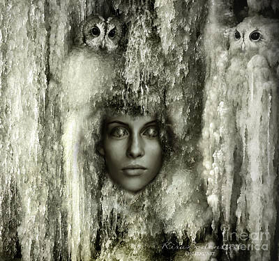 Photograph - Ice Queen by Kira Bodensted