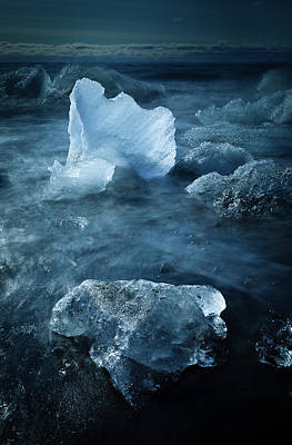 Photograph - Ice Shells by Peter OReilly