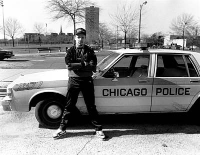 Photograph - Ice-t In Chicago by Raymond Boyd
