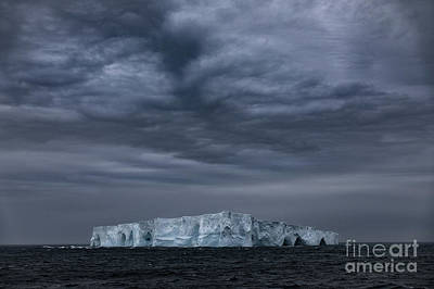Photograph - Iceberg And Clouds by Patti Schulze