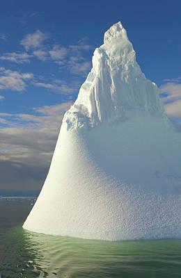 Photograph - Iceberg, Antarctic Peninsula by Eastcott Momatiuk