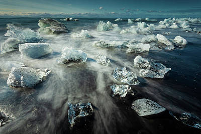 Photograph - Iceberg Beach by Peter OReilly