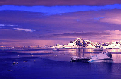 Photograph - Icebergs In Lemaire Channel, Antarctica by Danita Delimont