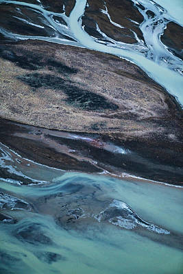 Photograph - Iceland Rivers 1 by Cath Simard