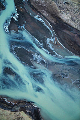 Photograph - Iceland Rivers 2 by Cath Simard