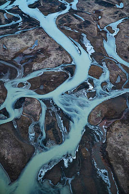 Photograph - Iceland Rivers 3 by Cath Simard