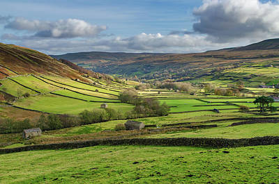 Mixed Media - Iconic Swaledale by Smart Aviation