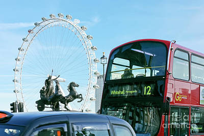 Photograph - Icons Of London by Terri Waters