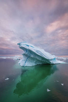 Photograph - Icy Pacman - Vertical by Michael Blanchette