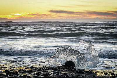 Photograph - Icy Sunrise by Framing Places