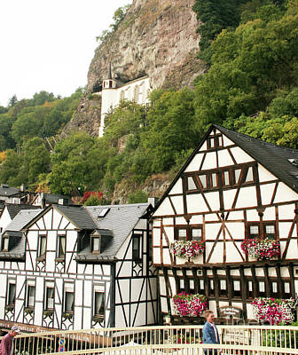 Photograph - Idar-oberstein-view On A Bridge by PJ Boylan