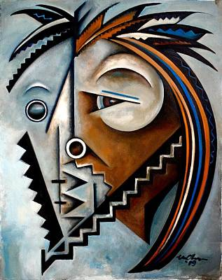 Portrait Wall Art - Painting - Ideation/ Gould by Martel Chapman