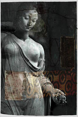 Mary Wall Art - Mixed Media - If Not For You - Statue by Paul Lovering