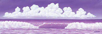 Painting - If The Sky Was Purple by Elisabeth Sullivan