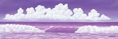 If The Sky Was Purple Art Print