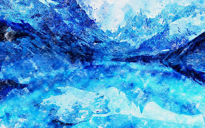 Painting - If Winter Comes - 07 by Andrea Mazzocchetti