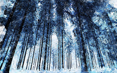 Painting - If Winter Comes - 10 by Andrea Mazzocchetti