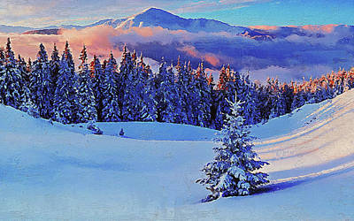 Painting - If Winter Comes - 12 by Andrea Mazzocchetti