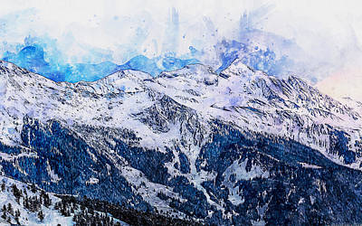 Painting - If Winter Comes - 14 by Andrea Mazzocchetti