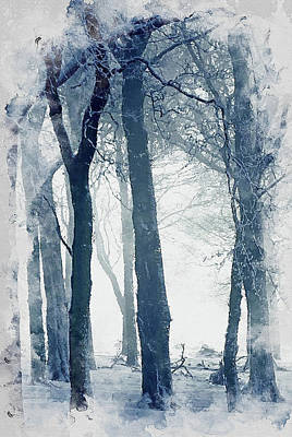 Painting - If Winter Comes - 17 by Andrea Mazzocchetti