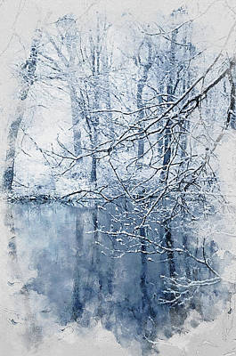 Painting - If Winter Comes - 19 by Andrea Mazzocchetti