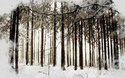 Painting - If Winter Comes - 20 by Andrea Mazzocchetti