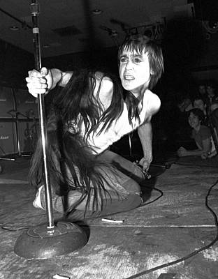 Photograph - Iggy Pop Live by Ed Perlstein