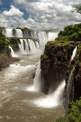 Photograph - Iguassu River And Falls by Vismar Ravagnani