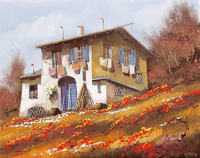 Royalty-Free and Rights-Managed Images - Il Portone Blu by Guido Borelli