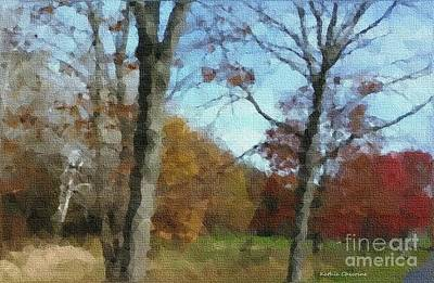 Digital Art - Illinois Autumn by Kathie Chicoine