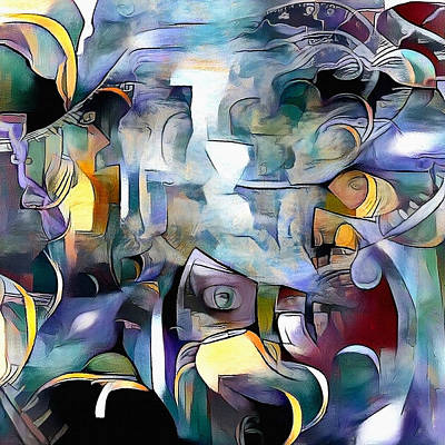 Surrealism Digital Art - Illusion of existence by Bruce Rolff