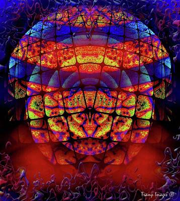 Digital Art - Illusion by Wesley Nesbitt