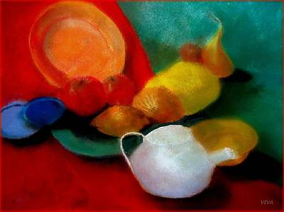 Painting - I'm  A  Little  Teapot  Sketch by VIVA Anderson