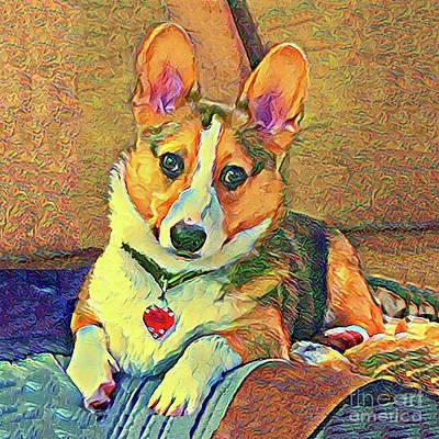 Digital Art - I'm All Ears by Kathy Kelly