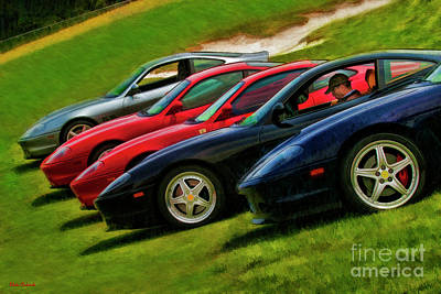 Photograph - I'm Staying In My Ferrari  by Blake Richards