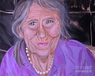 Painting - image 2 of painting Happy 79 Birthday by Oksana Semenchenko