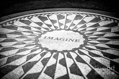 Photograph - Imagine At Strawberry Fields Central Park  by John Rizzuto