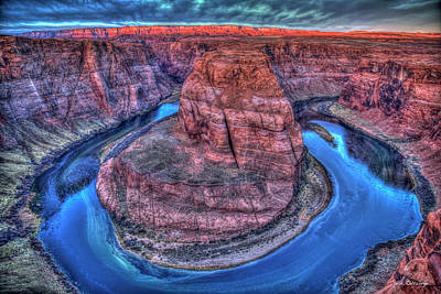Photograph - Imagine Horseshoe Bend Grand Canyon National Park Art by Reid Callaway
