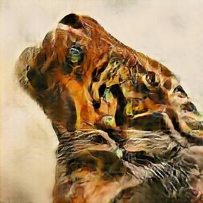 Digital Art - Imagining Tigers No. 1 by Matthew Daigle