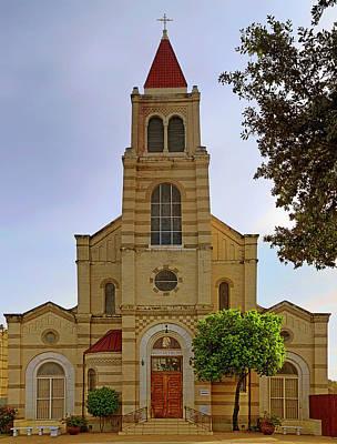 Photograph - Immaculate Heart Of Mary Church - San Antonio - Texas by Jason Politte