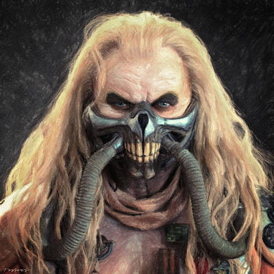 Steampunk Royalty-Free and Rights-Managed Images - Immortan Joe by Zapista Zapista
