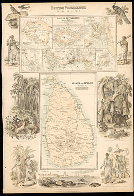 Imperial Possessions Art Print by Hulton Archive