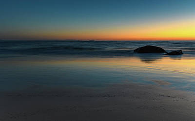 Photograph - Impressions - Dawn At The Seaside by Merrillie Redden