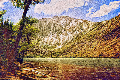 Photograph - Impressions Of June Lake  by Glenn McCarthy Art and Photography