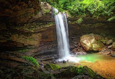 Photograph - Impressive Cucumber Falls  by Carolyn Derstine