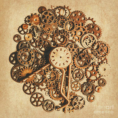 Steampunk Royalty-Free and Rights-Managed Images - Improvised time by Jorgo Photography - Wall Art Gallery